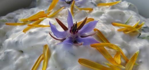 Blüten zur Garnitur